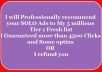 Recommend your Solo Ad to my Fresh Getresponse list