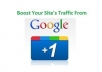 make 40 local google searches with your keyword and give 40 google +1 votes from real people