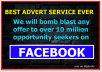 Bomb Blast Your Adverts To Over 10 Million People Instantly
