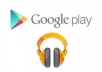 play your song on Google Play 500 times