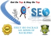Fully SEO Package GET All kinds of HQ Backlinks