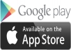 download and review your app on ios/android/windows web store