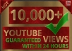 SUPER FAST 10000+ HR YOUTUBE VIEWS IN YOUR VIDEO