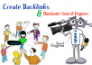 create 200 PR-5 to PR-9 High quality Backlinks