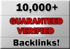 Give You 10,000 High Quality and Sticky Backlinks