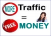 teach you 100 ways to generate a lot of  TRAFFIC to your site