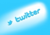 ** High Quality Global Twitter Followers **  Twitter can be a great marketing way, if you use it properly it can bring a great business deal to you. High quality twitter followers are more important. Increase your business reputation by getting more and more high quality twitter followers.  Quality and quantity is really important.  Generally you can not get huge number of quality followers. I will do it for you. I will give you high quality global twitter followers at a short time. Its simple, fast and best.  I will also give you 50 twitter retweets.  For more information contact with me.   Order now.