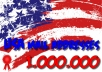 send you 1000000 USA email leads list