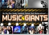 do tremendous MUSIC promotion on our facebook channel