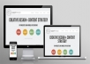 create a responsive website with bootstrap