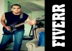 compose and play electric guitar for you