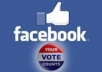 help you become winner with 100 real FACEBOOK votes/likes/ fans,  like site, blog, photo, from America or European in just 2 hour