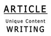 professionally write your ARTICLES