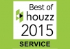write a Houzz review of 75 to 100 words
