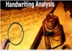 analyze your handwriting sample