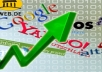 create over 2000 Backlinks from Alexa and Co.