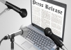 Submit your Press Release in 25 High PR and news