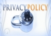 provide your business an intelligent privacy policy NOW
