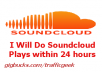 Do 10000 soundcloud plays very fast