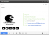 create Gmail Signature with Social Media Icon and logo
