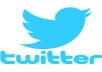 add you 6000+Stable/NON Drop/Fast twitter Followers.