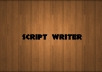 write a TVC script for your product