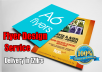 design a professional flyer for you