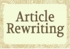 rewrite 2x 1000 words article Unlimited Modification