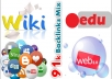 give you 91,000 backlinks mix of wiki, social, edu and web 2.0