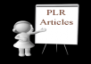 Give You 5,00,000 Plus PLR Article