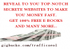 teach you secrete websites to help you make money fast online