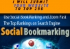 Submit your Website to Top 250 Social bookmarking sites