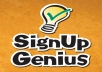 help u in signing ups and be a virtual assistant and help u in selling goods