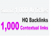submit 1000 Articles to Create Unlimited Backlinks