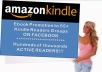 promote your Amazon Kindle Ebook in over 55 FB Active Readers Groups