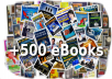 give you All in One: More than 500 eBooks for your success