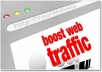 provide 14000 TRAFFIC Visitors To Website With Proof