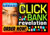 show you how I make 200 dollars every day with clickbank