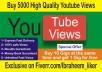 watch BEST 5000 youtube High retention views