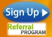 Do 35 USA or International Referral  Signups  From different Ips