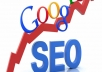 do complete SEO for your website with 1,000 Backlinks