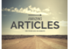 write amazing articles for your blog or website