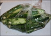 give a delicious recipe pickled cucumbers in one hour