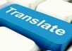 professionally translate any English article you want to Arabic 1000 words