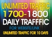 Drive unlimited website traffic