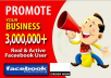 promote your Business or Web Site over 3 Million Fans