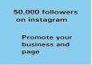 promote your business, video, song and pages on my Instagram