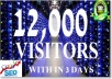 drive 12,000 Google real visitors your website