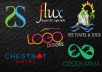 design fully Customized creative logo in one day