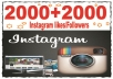 give 2500 high quality Instagram Follower or Likes your profile To Improve your Social Media